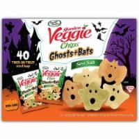 Garden Veggie Ghost and Bats Veggie Snacks (40 Count) - 1 unit