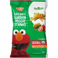 Earth's Best Organic Sea Salt Veggie Straws Snacks