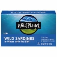 Wild Planet Sardines in Water