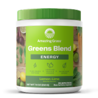 Amazing Grass Green Superfood Lemon-Lime Energy Powder Supplement