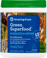 Amazing Grass Green Superfood Alkalize & Detox Whole Food Supplement