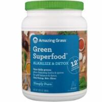 Amazing Grass  Green Superfood® Alkalize & Detox