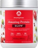 Amazing Grass Amazing Protein Glow Wild Berry Hibiscus Protein Powder