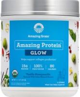 Amazing Grass Amazing Protein Glow Vanilla Honeysuckle Whole Food Dietary Supplement Powder