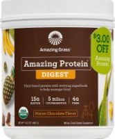 Amazing Grass Amazing Protein Digest Mayan Chocolate Dietary Supplement Powder