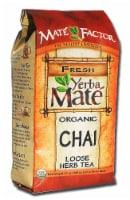 The Mate Factor  Yerba Mate Organic Chai Loose Herb Tea