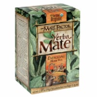 The Mate Factor Chai Yerba Mate Energizing Herb Tea Bags