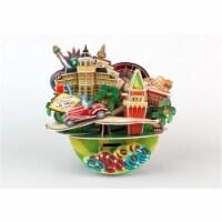 3D Puzzles CFOC3205 Las Vegas Cityscape 3D Puzzle, 64 Pieces - 64