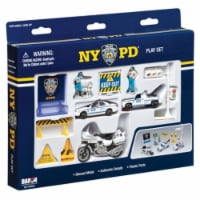 Daron Worldwide Trading RT8620 NYPD 14 Piece Playset