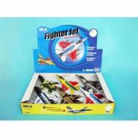 Daron TM980N Fighter Jet Pullback Toy - 6 Piece Assortment - 6