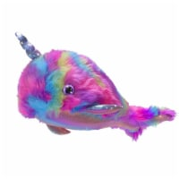 Cuddle Barn Sea Sparkle Narwhal 17 Inch Plush With Sound