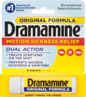 Dramamine Motion Sickness Relief Dual Action Tablets