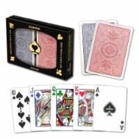 Copag 4-Color Poker Size Regular Index - 1 each