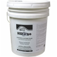 Quest Speciality 6120 HD-50 Synthetic Cutting Fluid, Rust Preventative, Coolant 5 Gallon - 5 gallon each