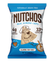 Nutchos™ Grain Free Classic Sea Salt Almond Chips - 3 oz