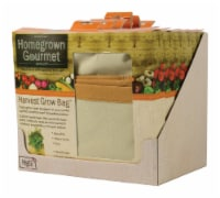 Architec Homegrown Gourmet 24 in. W x 24 in. L Tan Cotton Harvest Grow Bag-Root Vegetables - - Count of: 1
