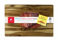 Architec Gripperwood 19 in. L x 13 in. W Acacia Wood Concave Carving Board - Case Of: 3; - Case of: 3