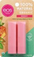 EOS Honey Organic Lip Balm Sticks