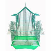 YML A1144GRN Pagoda Top Cage, Small - 1