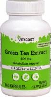 Vitacost Green Tea Extract Capsules 500mg - 100 ct
