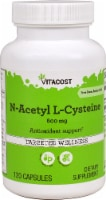Vitacost N-Acetyl L-Cysteine Antioxidant Support 600mg - 120 ct