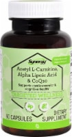 Vitacost Synergy Targeted Wellness Acetyl L-Carnitine Alpha Lipoic Acid & CoQ10 Capsules - 60 ct