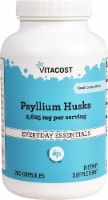 Vitacost Psyllium Husks Everyday Essentials Capsules 2625mg - 200 ct