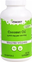 Vitacost Coconut Oil Softgels - 120 ct