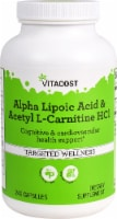 Vitacost  Alpha Lipoic Acid & Acetyl L-Carnitine HCl Targeted Wellness Capsules - 240 ct
