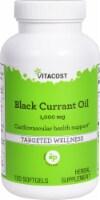 Vitacost Black Currant Oil Softgels 1000mg - 120 ct