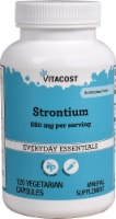 Vitacost Strontium Mineral Supplement Vegetarian Capsules 680mg