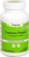 Vitacost Cayenne Pepper Capsules 600mg