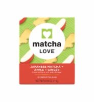 Matcha Love Japanese Matcha Apple Ginger Tea Bags