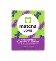 Matcha Love Japanese Matcha Blueberry Lavender Tea Bags