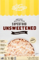 Bakery on Main Unsweetened Gluten Free Instant Oatmeal Packets 6 Count