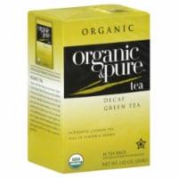100 Organic & Pure, Tea Green Dcf Org, 18 Bg, (Pack Of 6) - 1