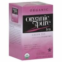 100 Organic & Pure, Tea Green Jasmn Org, 18 Bg, (Pack Of 6) - 1