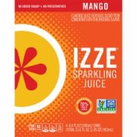 Izze Mango Flavored Sparkling Juice Beverage - 4 cans / 8.4 fl oz