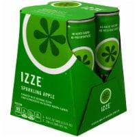 IZZE Sparkling Juice Apple Flavored Juice Drink 4 Count