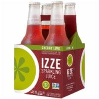 IZZE Sparkling Juice Drink Cherry Lime Flavored Juice Drink