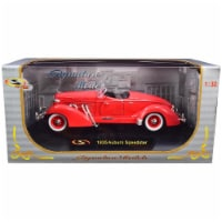 1935 Auburn Speedster Coral Red 1/32 Diecast Model Car by Signature Models - 1