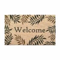 Home & More 12072 Fern Welcome Doormat - 1