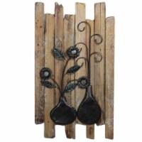 Saltoro Sherpi Spectacular Wooded Wall D?cor by Entrada by Entrada