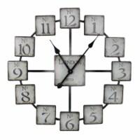 Saltoro Sherpi Classic and Uniquely Designed Metal Wall Clock