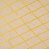 "Lugano Abstract Overall Jacquard Design Window Curtain Panel Limencello 54""x95"" - 1"