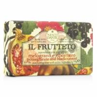 Nesti Dante Il Frutteto Nourishing Soap  Pomegranate & Blackcurrant 250g/8.8oz - 250g/8.8oz