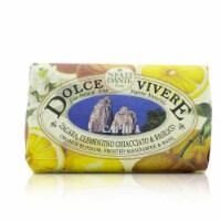 Nesti Dante Dolce Vivere Fine Natural Soap  Capri  Orange Blossom, Frosted Mandarine & Basil