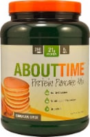 About Time  Protein Pancake Mix   Cinnamon Spice