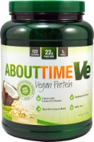 About Time  Vegan Protein   Natural Vanilla
