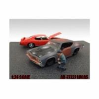 American Diorama 77727 Mechanic Lucas Figure for 1-24 Diecast Model Cars